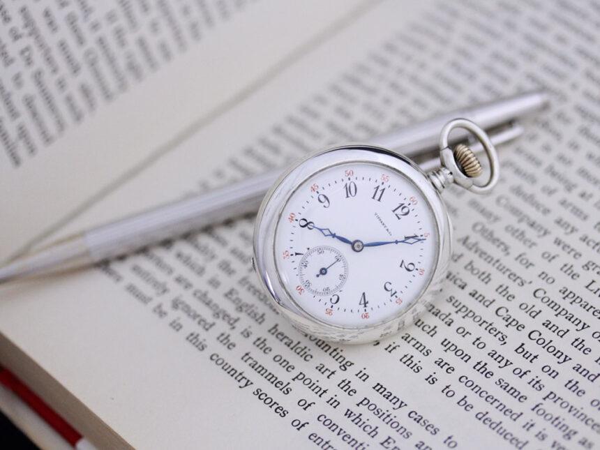 ティファニーのアンティーク懐中時計-P2137-4