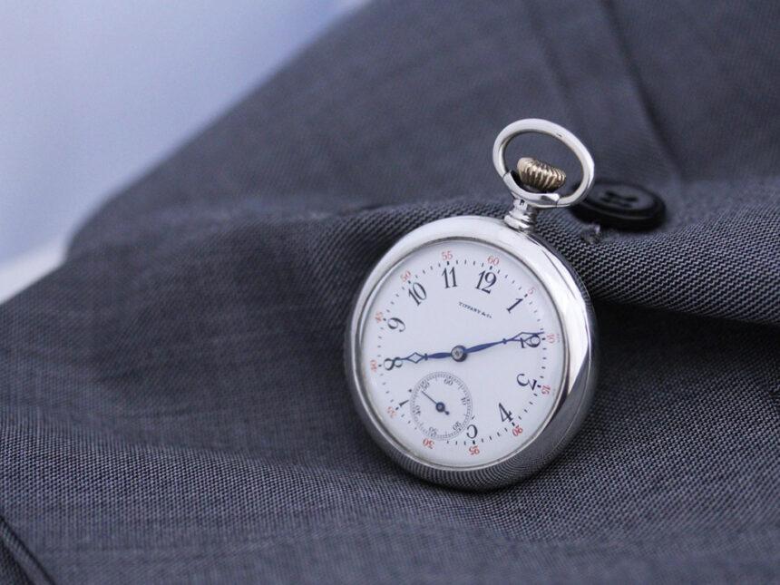 ティファニーのアンティーク懐中時計-P2137-5