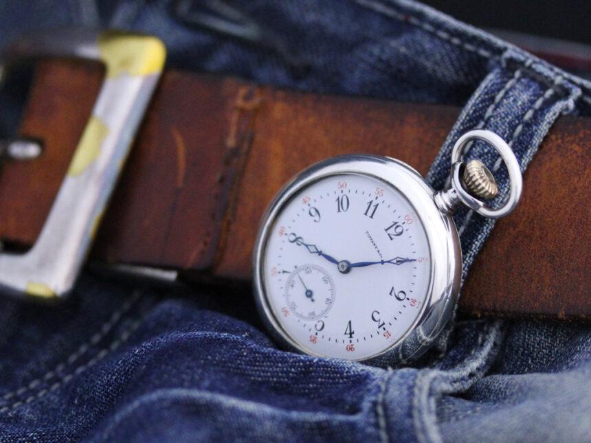 ティファニーのアンティーク懐中時計-P2137-6