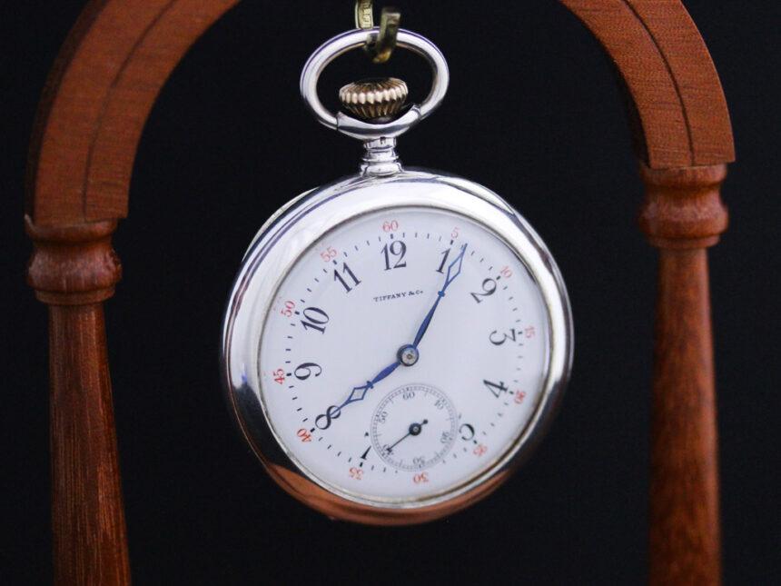 ティファニーのアンティーク懐中時計-P2137-9