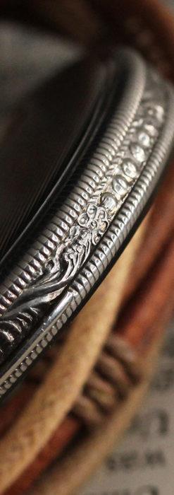 IWC 艶のある上品な銀無垢アンティーク懐中時計 【1927年頃】-P2140-12