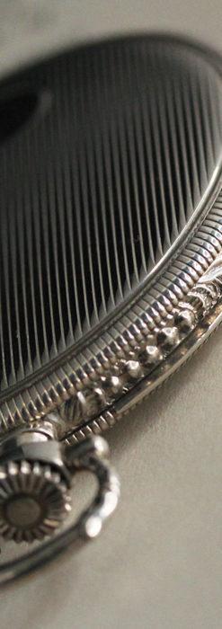 IWC 艶のある上品な銀無垢アンティーク懐中時計 【1927年頃】-P2140-13