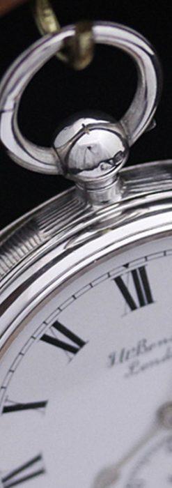 ベンソンのアンティーク懐中時計-P2161-11