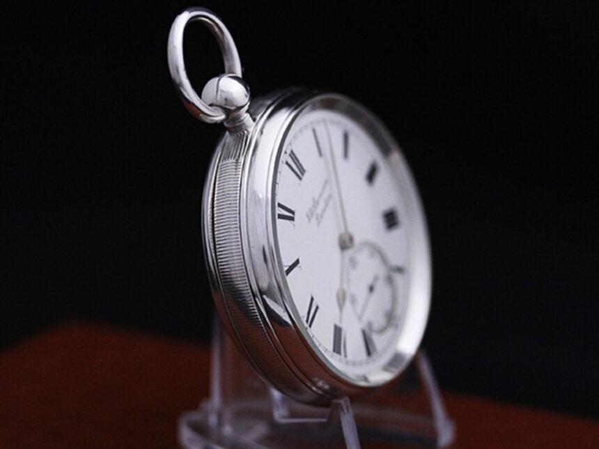 ベンソンのアンティーク懐中時計-P2161-12
