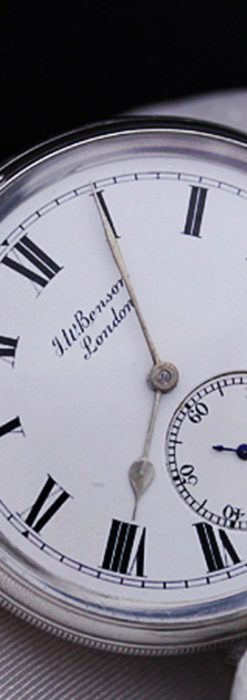 ベンソンのアンティーク懐中時計-P2161-2