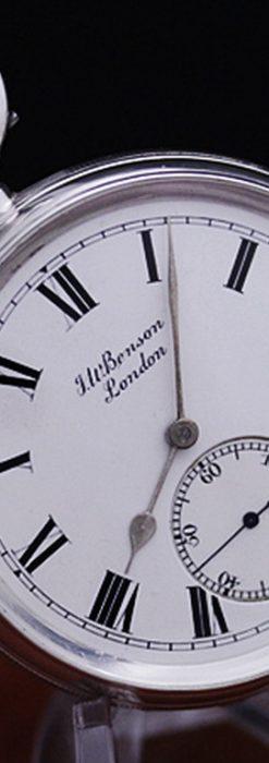 ベンソンのアンティーク懐中時計-P2161-6