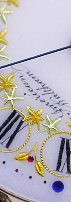 ウォルサムの絢爛なアンティーク金無垢懐中時計 【1896年製】-P2167-1