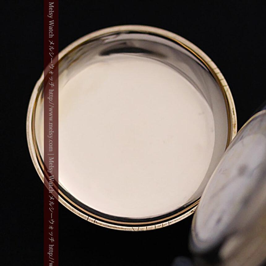 ウォルサムの絢爛なアンティーク金無垢懐中時計 【1896年製】-P2167-13