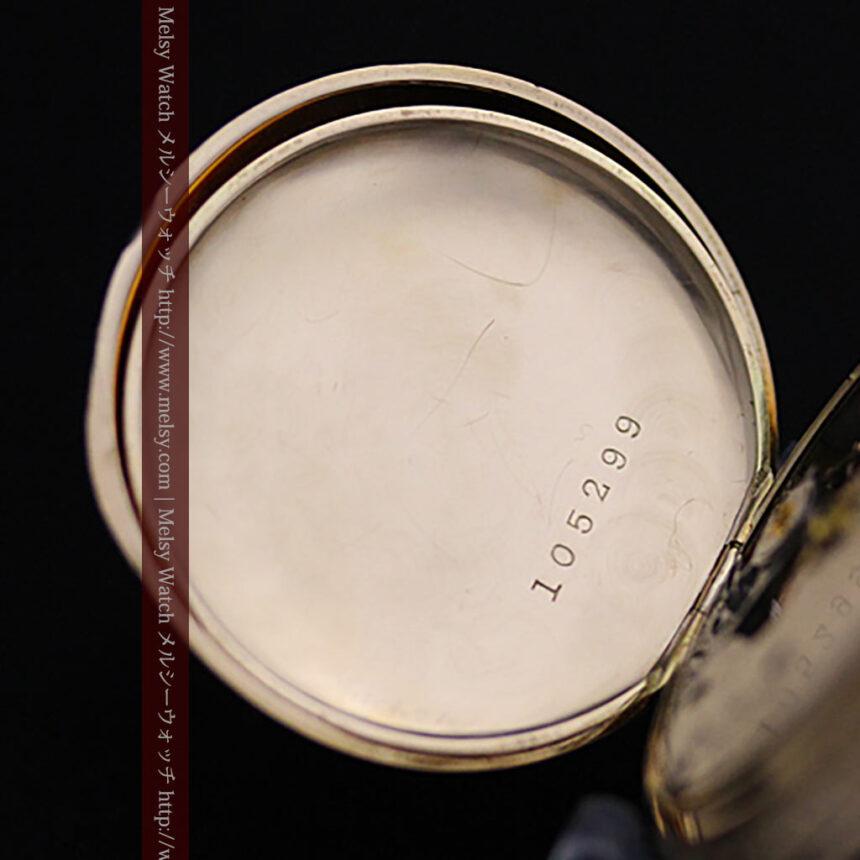 ウォルサムの絢爛なアンティーク金無垢懐中時計 【1896年製】-P2167-16