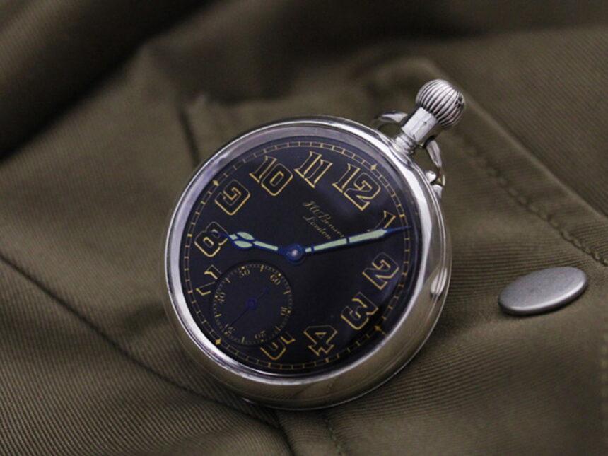 ベンソン懐中時計-P2177-1