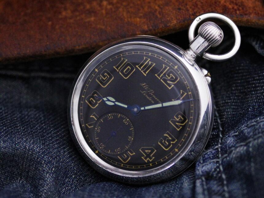 ベンソン懐中時計-P2177-3