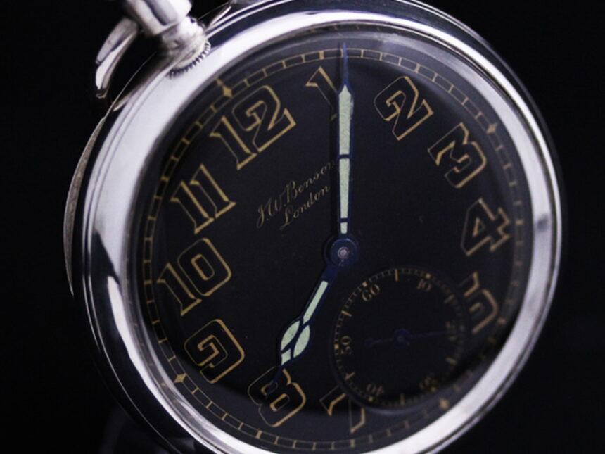 ベンソン懐中時計-P2177-7
