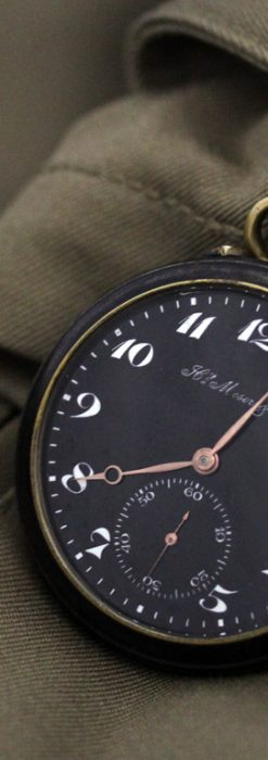 H.モーザーのアンティーク懐中時計-P2199-1