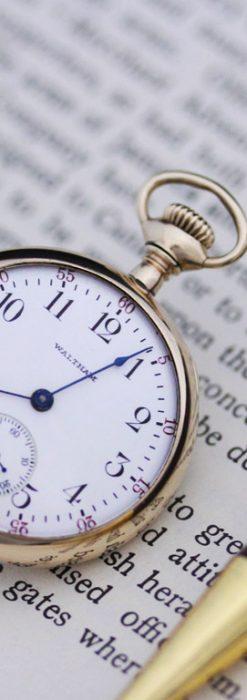 ウォルサムのアンティーク懐中時計-P2201-1
