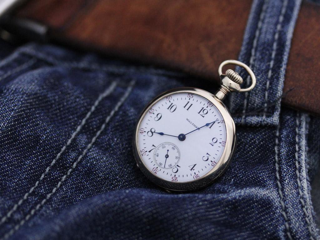 ウォルサムのアンティーク懐中時計-P2201-2
