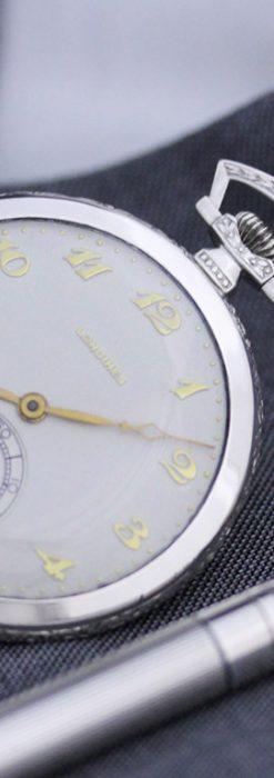 ロンジンのアンティーク懐中時計-P2202-1