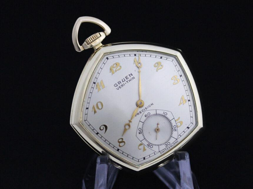 グリュエンのアンティーク懐中時計-P2203-10