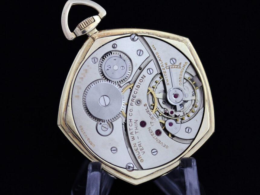 グリュエンのアンティーク懐中時計-P2203-15