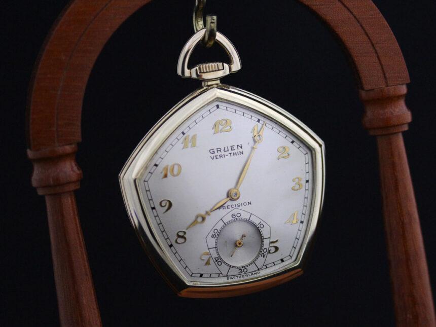 グリュエンのアンティーク懐中時計-P2203-2