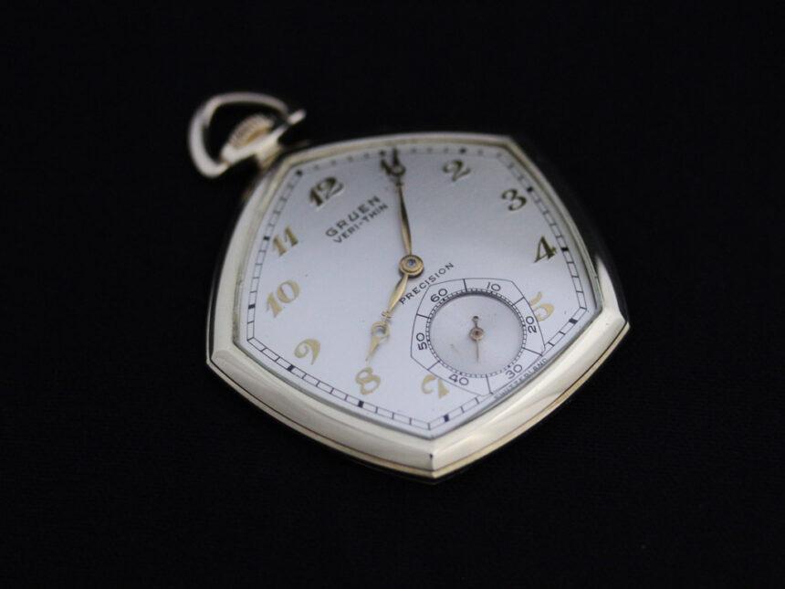 グリュエンのアンティーク懐中時計-P2203-8
