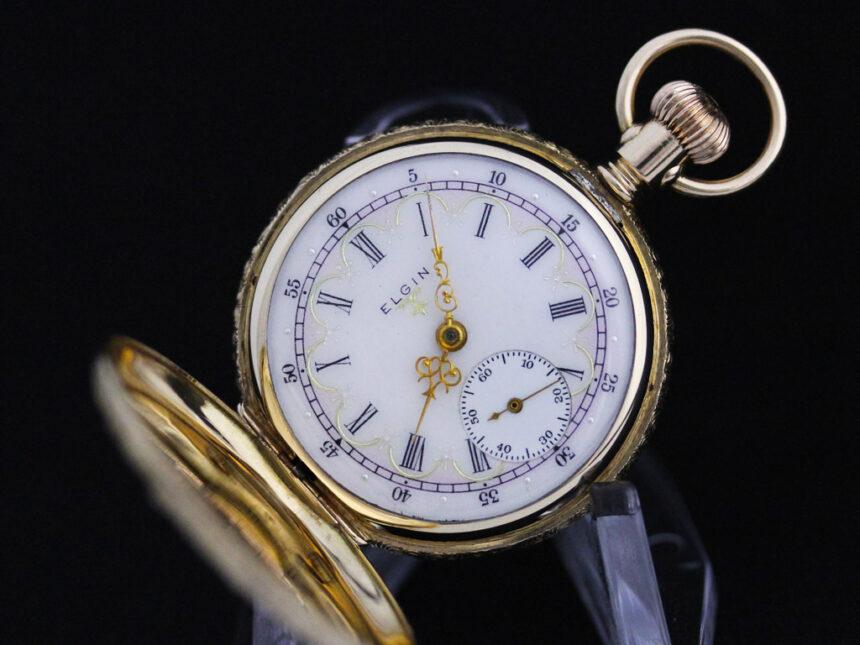 エルジンのアンティーク懐中時計-P2204-11