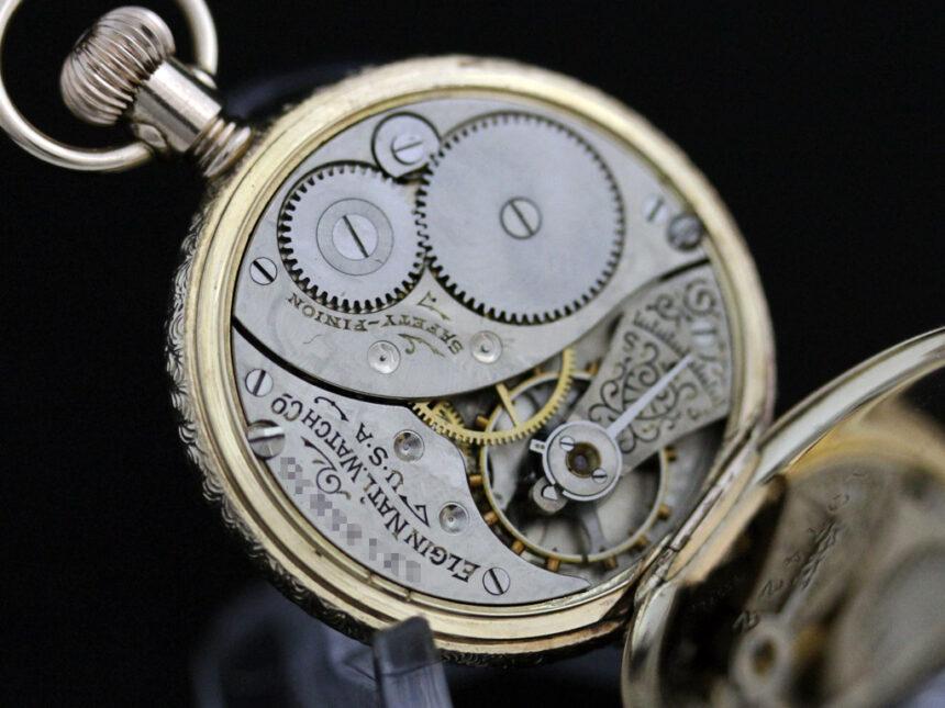 エルジンのアンティーク懐中時計-P2204-20