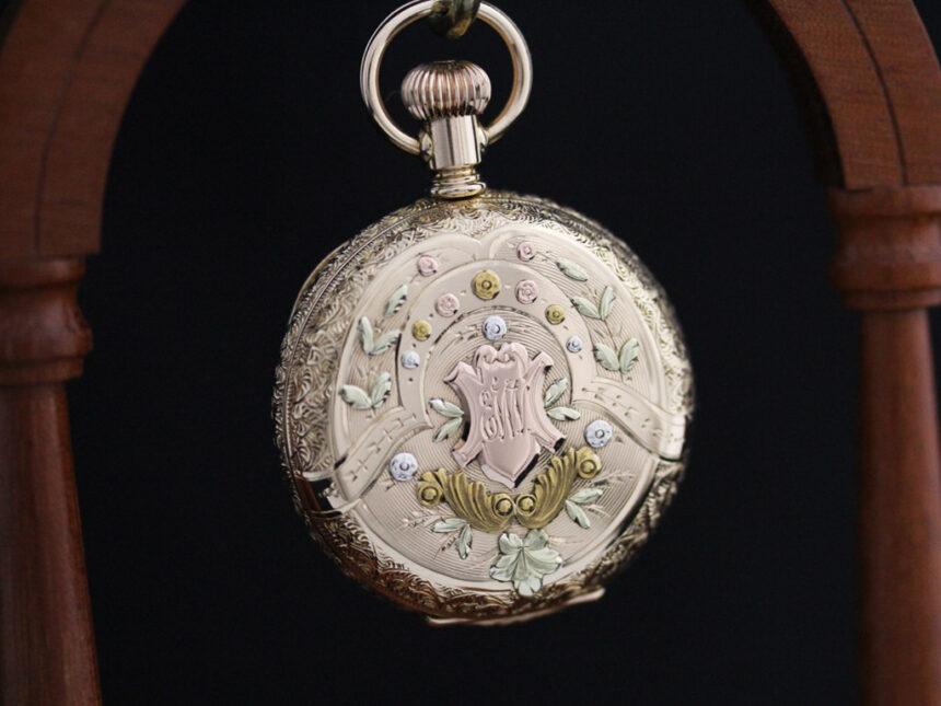 エルジンのアンティーク懐中時計-P2204-8