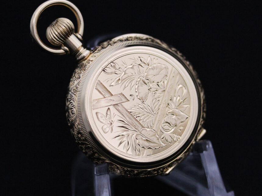 エルジンのアンティーク懐中時計-P2205-13