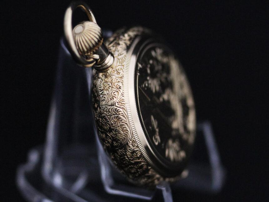 エルジンのアンティーク懐中時計-P2205-15