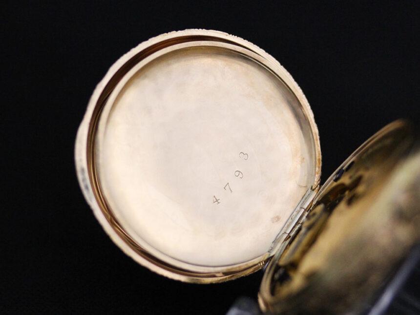 エルジンのアンティーク懐中時計-P2205-17