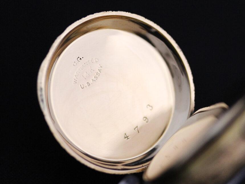 エルジンのアンティーク懐中時計-P2205-19