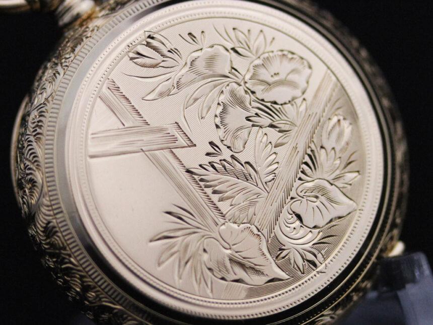 エルジンのアンティーク懐中時計-P2205-8