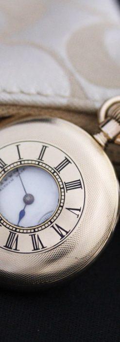 ウォルサムのアンティーク懐中時計-P2206-1