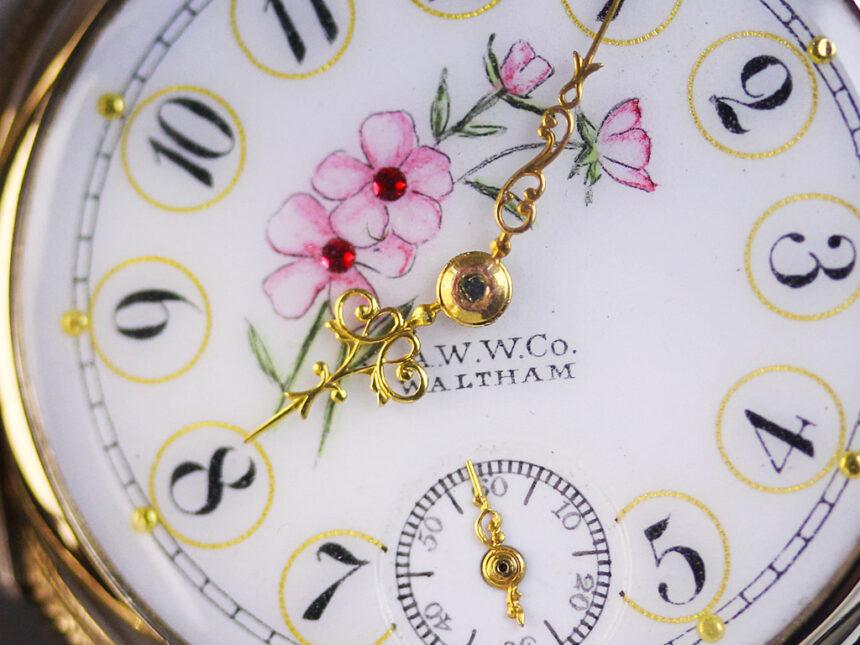 ウォルサムのアンティーク懐中時計-P2208-1