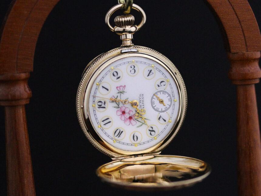 ウォルサムのアンティーク懐中時計-P2208-10