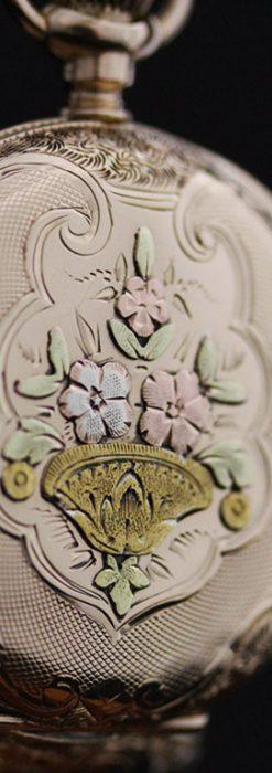ウォルサムのアンティーク懐中時計-P2208-11