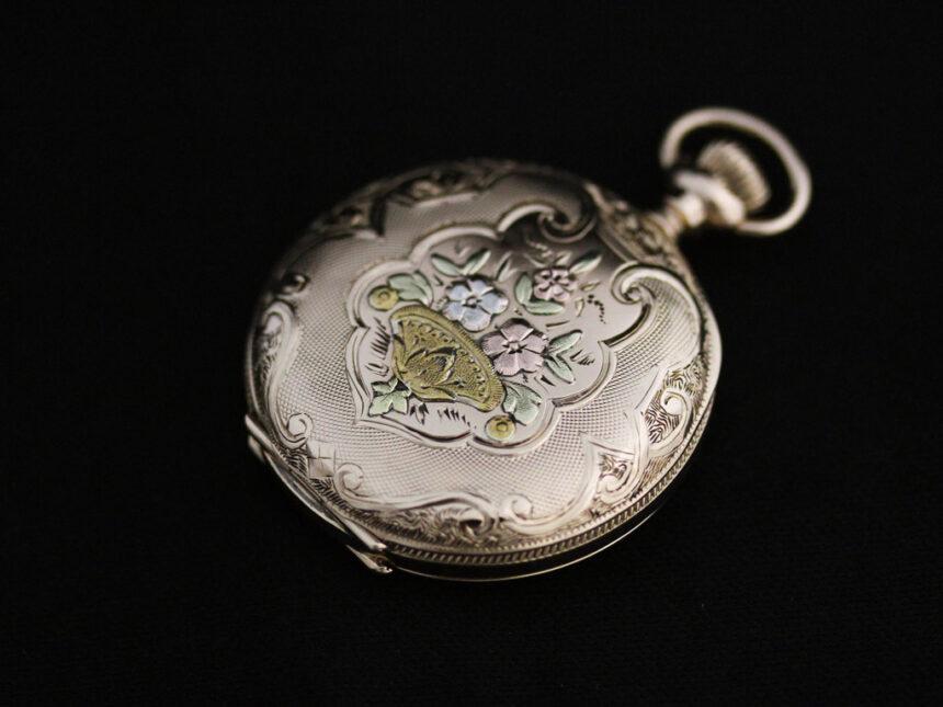ウォルサムのアンティーク懐中時計-P2208-12