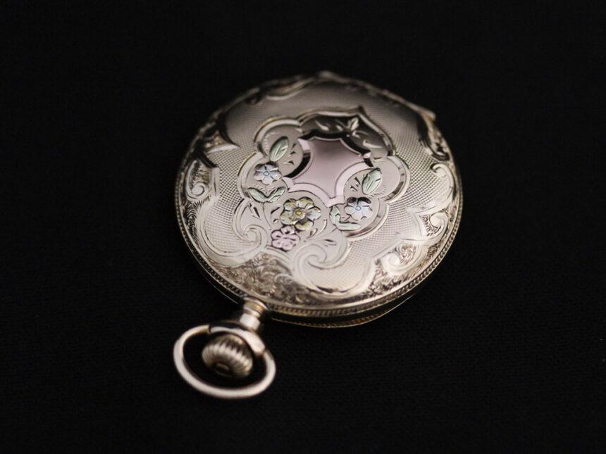 ウォルサムのアンティーク懐中時計-P2208-13