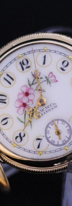 ウォルサムのアンティーク懐中時計-P2208-14