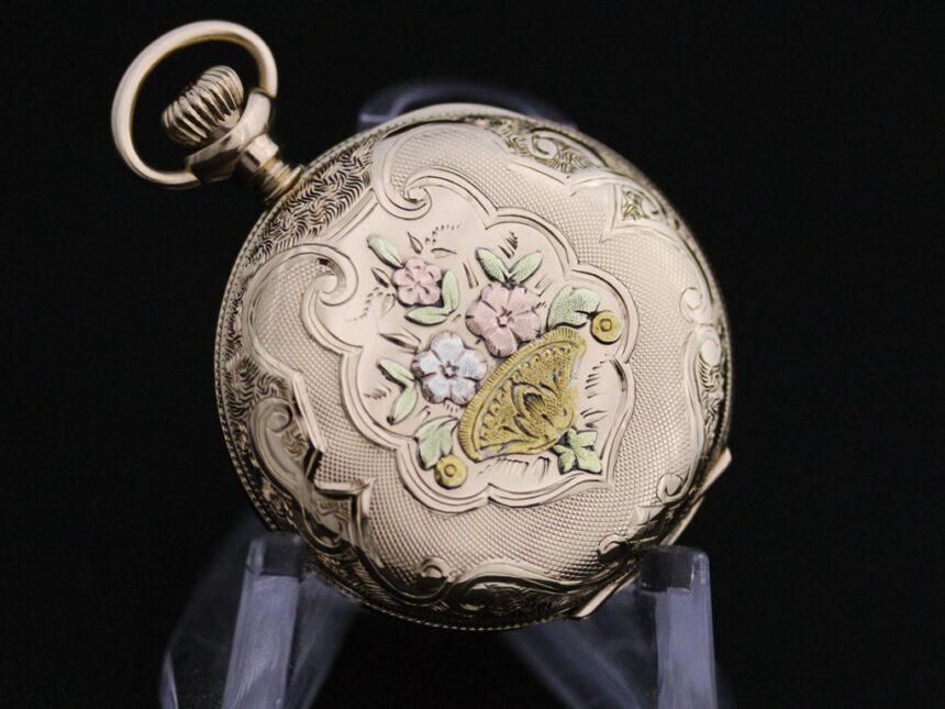 ウォルサムのアンティーク懐中時計-P2208-15