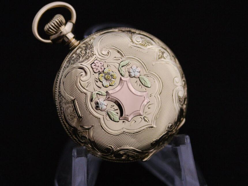 ウォルサムのアンティーク懐中時計-P2208-16