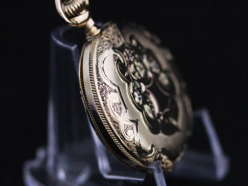 ウォルサムのアンティーク懐中時計-P2208-17