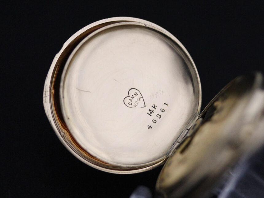 ウォルサムのアンティーク懐中時計-P2208-21