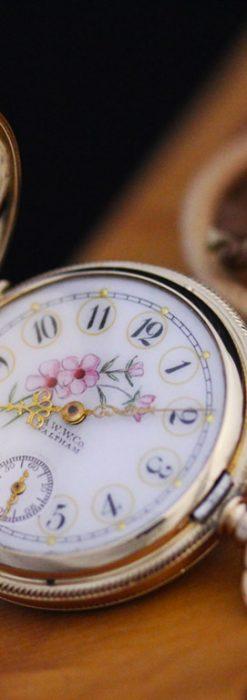 ウォルサムのアンティーク懐中時計-P2208-4