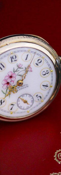 ウォルサムのアンティーク懐中時計-P2208-5