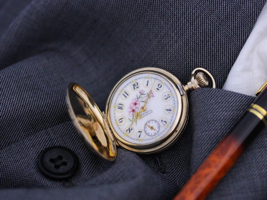 ウォルサムのアンティーク懐中時計-P2208-6