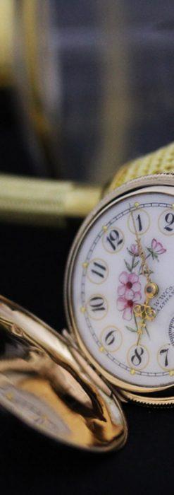 ウォルサムのアンティーク懐中時計-P2208-7