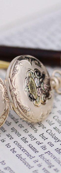 ウォルサムのアンティーク懐中時計-P2208-8