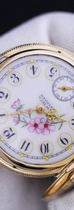 ウォルサムのアンティーク懐中時計-P2208-9