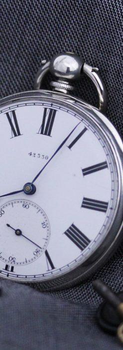 無銘のアンティーク懐中時計-P2209-1